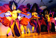 Dancers at an event at FIU's Kovens Conference Center