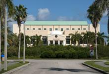 Exterior of FIU's Roz and Cal Kovens Conference Center